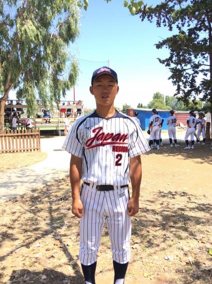 第38回世界少年野球大会日本代表